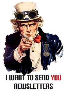 Steampunk Uncle Sam Newletter.JPG