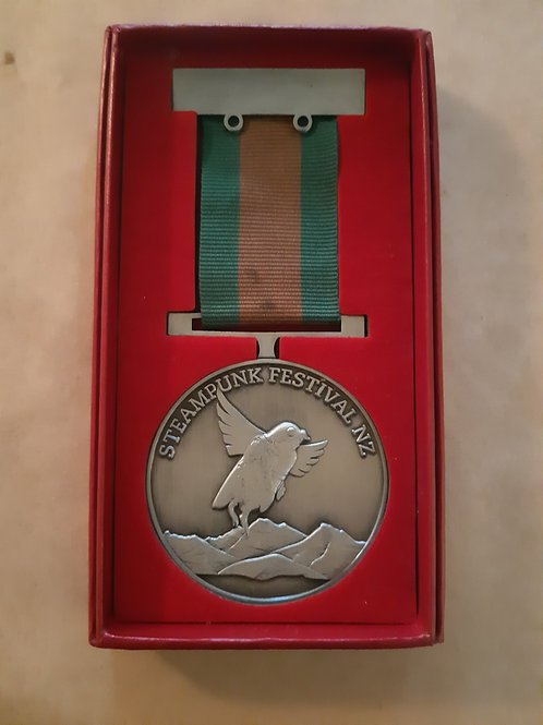 Steampunk Festival NZ Medal
