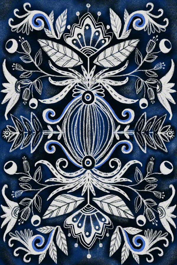 Blue Blossom 1