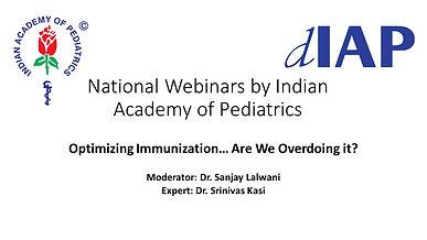 Optimizing Immunization Are We Overdoing it