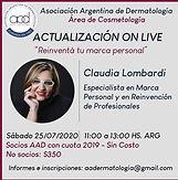 Associacón Argentina de Dermatología: Actualización on Live