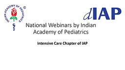 Intensive Care Chapter of IAP