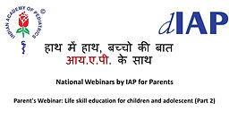 Life skill education for children and adolescent (Part 2)