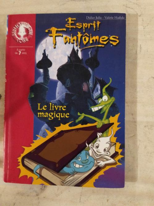 """fantômes """"le livre magique"""