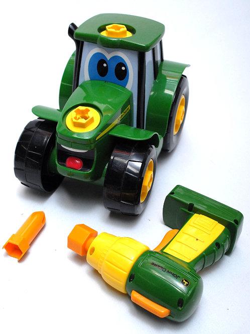 Tracteur John Deere +visseuse