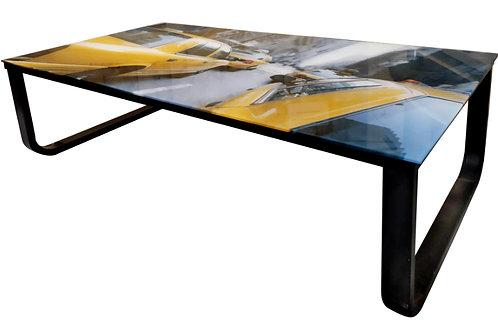 "Table en verre ""new york"""