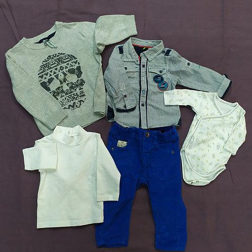 Lot de vêtements bébé garçon