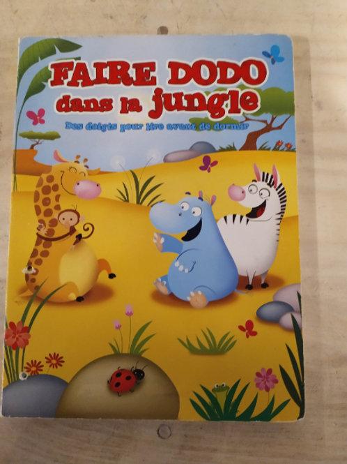 Faire dodo dans la jungle