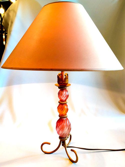 """Lampe """"boules de verre"""""""
