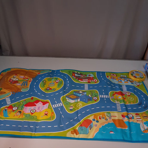 TAPIS ROUTE MUSICAL