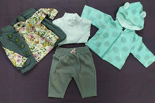 Lot de vêtements bébé fille