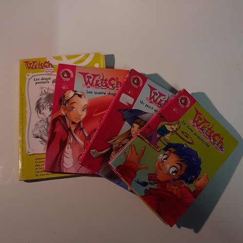 LOT 4 LIVRES WITCH