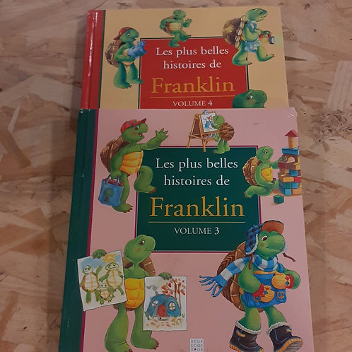 LOT 2 LIVRES FRANKLIN