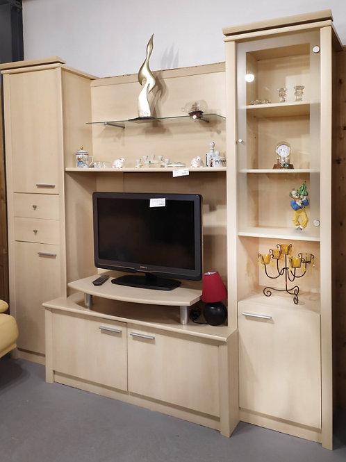 Ensemble meubles de salon beige / support TV