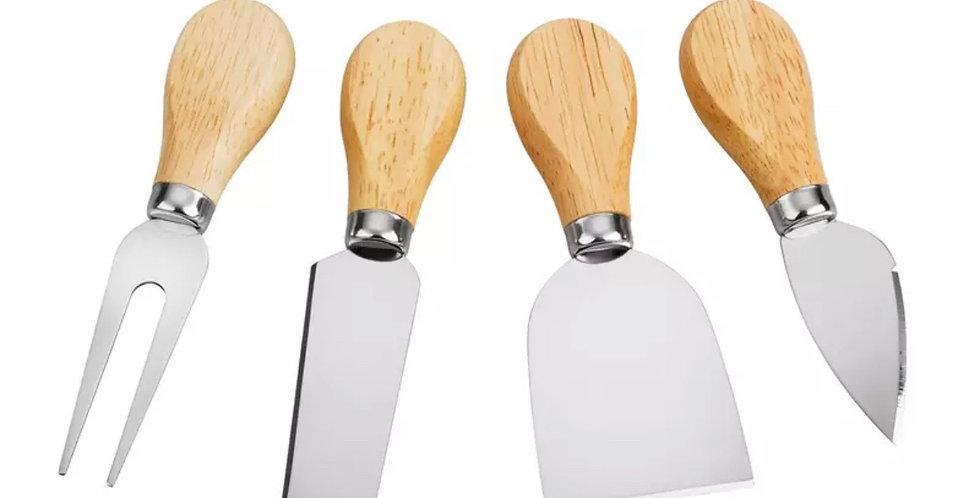 Set 4 cuchillos para quesos