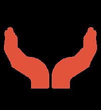 manos rojas