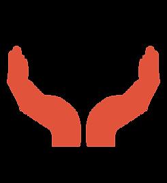 mãos vermelhas