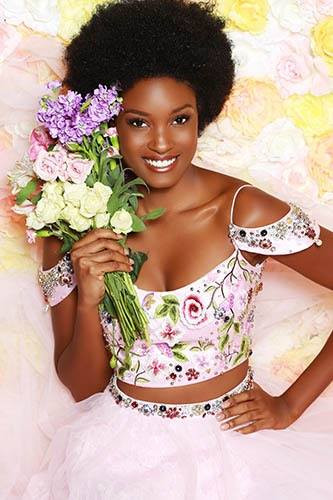 Miss Jamaica 2017 Davina Bennett  Photo By Georgina Vaughan Makeup By DeLaney  Hair by Chi Hair Care