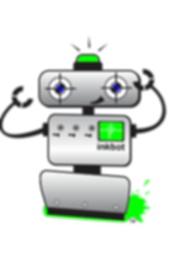 InkBot is a trademarked Sport-Tee mascot