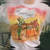 Airbrushed shirt