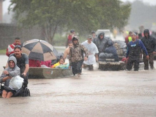 Helping Our Fellow Man - Hurricane Harvey Victims