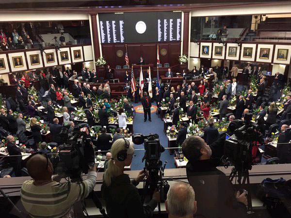 Opening day of 2016 Legislative Session