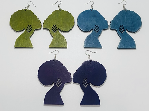 EARRING QUEEN (Afro pride) collection