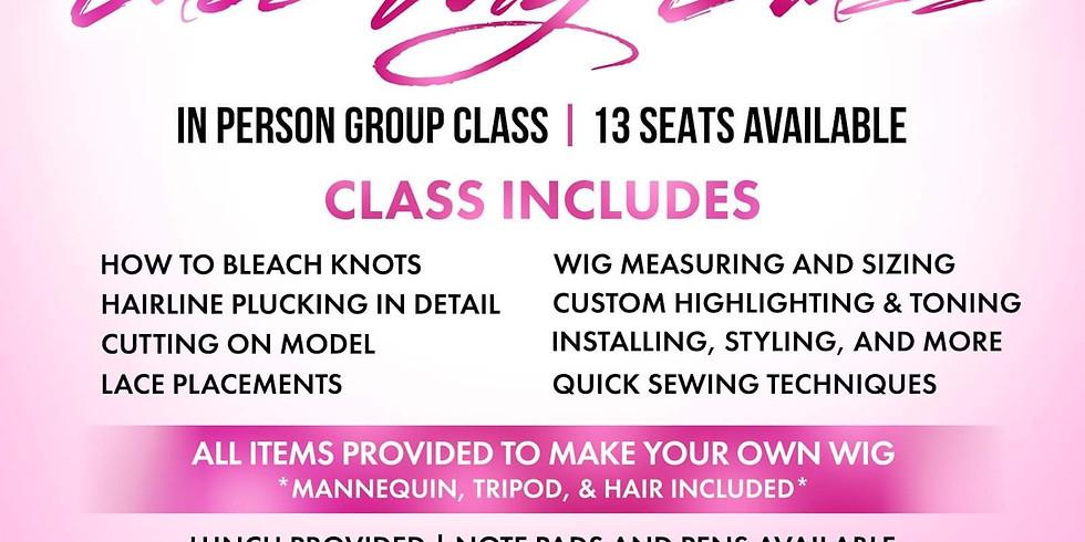 Intermediate Wig Making Class (1)