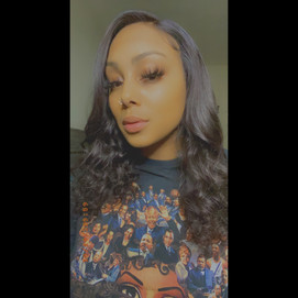 16 inch lace front wig