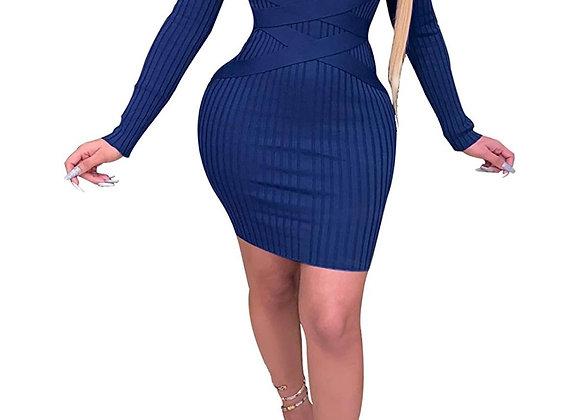 Bodycon Mini Club Dresses Bandage (up to 2xl)