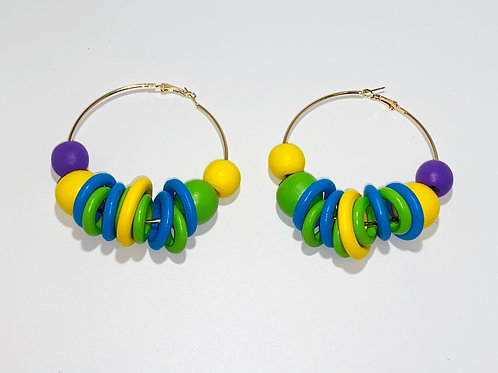 EARRING QUEEN (hoops) collection