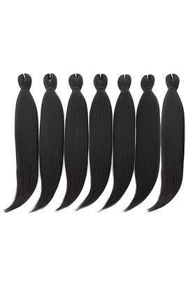 DAN NING 24 '' Pre-stretched Braiding Hair Original Kanekalon Braid Hair Extensi