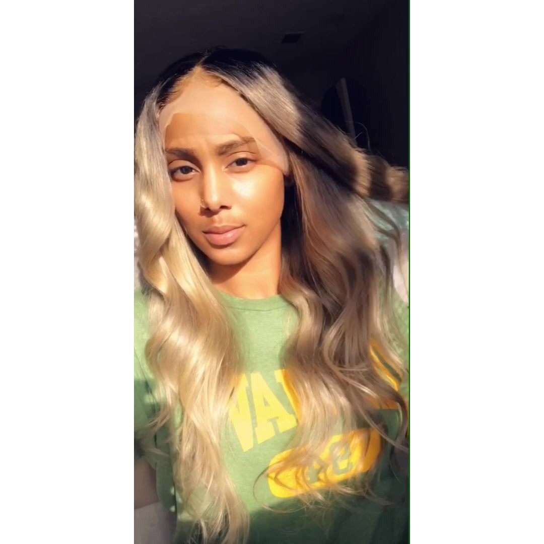 customized 613 full lace wig.