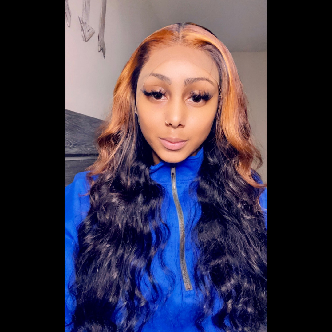 24 inch lace front wig