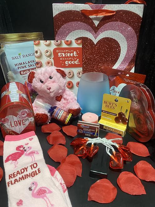 DIME Valentine's Day Candle Holder Gift Bags