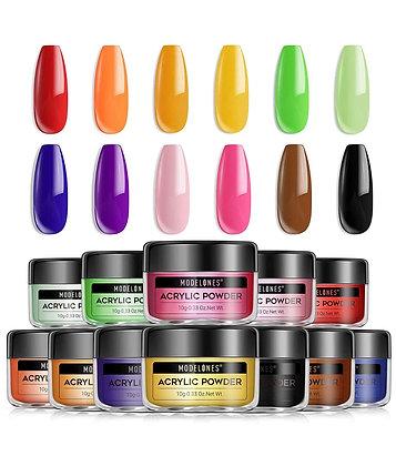 12 Color Acrylic Powder Set