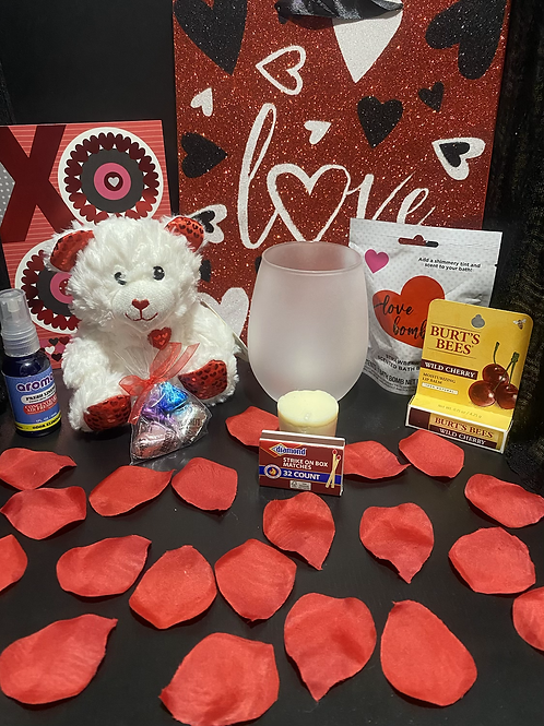 PENNY Valentine's Day Candle Holder Gift Bags