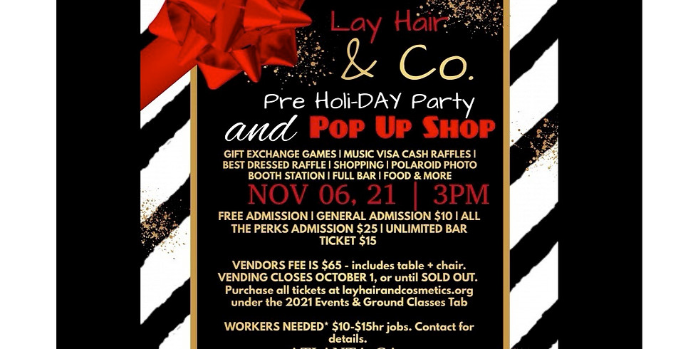 Pre Holi-DAY Party &  Pop Up Shop