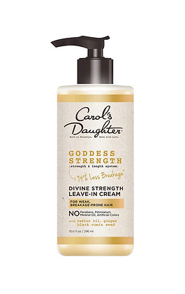 Leave In Conditioner with Castor Oil, Black Seed Oil and Ginger