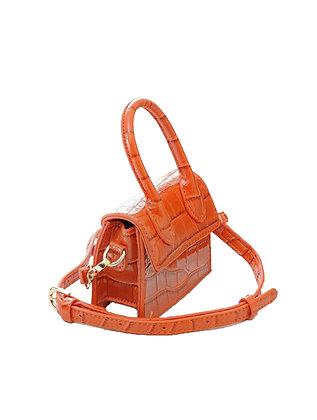 Mini Crossbody Bag - Top Handle Clutch Handbag