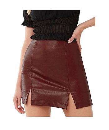 """""""Nothing but LEATHER"""" Womans leather skirt"""