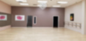 Inside of El Paso Dance Works! Studio