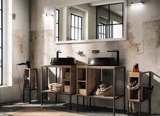 ¿aun tienes tu baño con la decoración que ordena el catalogo del almacén?