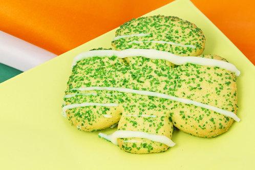 Giant 4 Leaf Clover Sugar Cookie