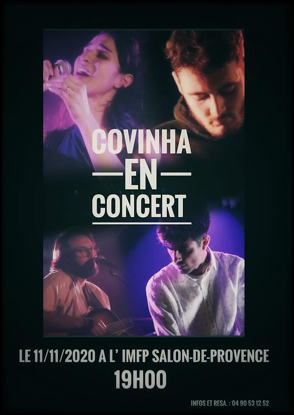 affiche concert COVINHA 11112020 sans le