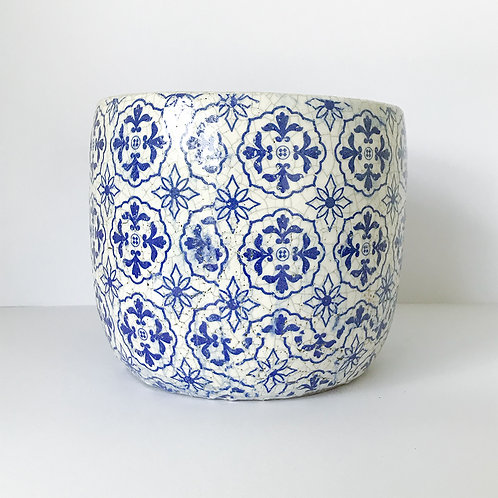 Portugese Blue and White Planter