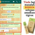[sihat-mall.blogspot.com] Tigrox Tiger Milk King Cendawan Susu harimau Testimoni 2 Bersin.
