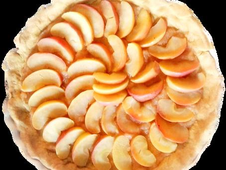 Ma tarte aux pommes naturo