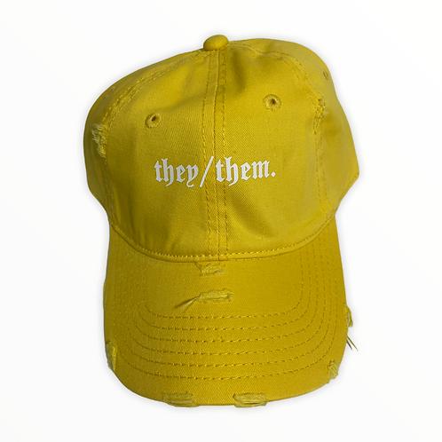 They/Them Baseball Cap