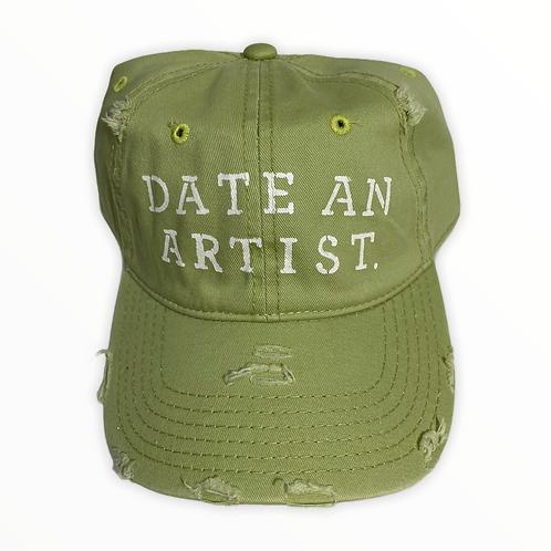 Date An Artist Baseball Cap